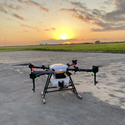 SynTech Iberia pioneers drone applications for crop protection and bio pesticide field trials